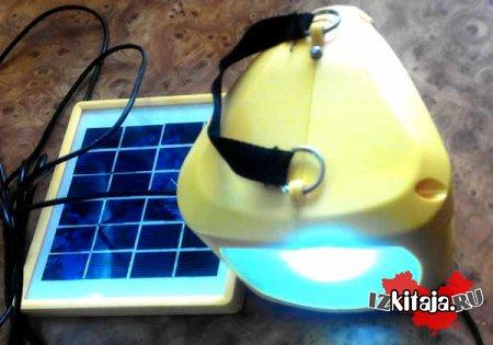 Аккумуляторный фонарь с fm-радио